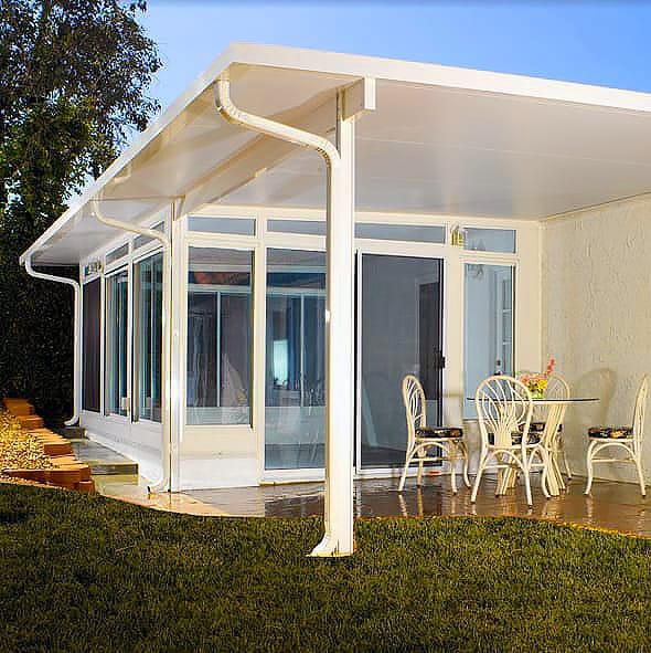 Alumashade DIY Solid Insulated Patio Cover