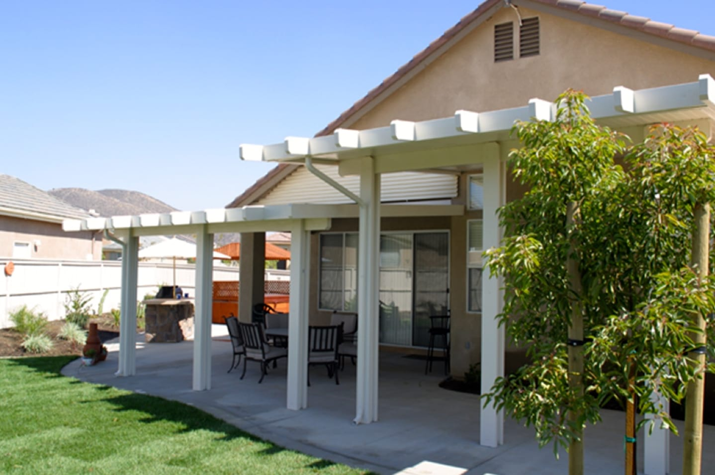 Alumashade DIY Solid Non-Insulated Patio Cover